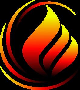 X Icon Flame Logo Sondaica 3 ...