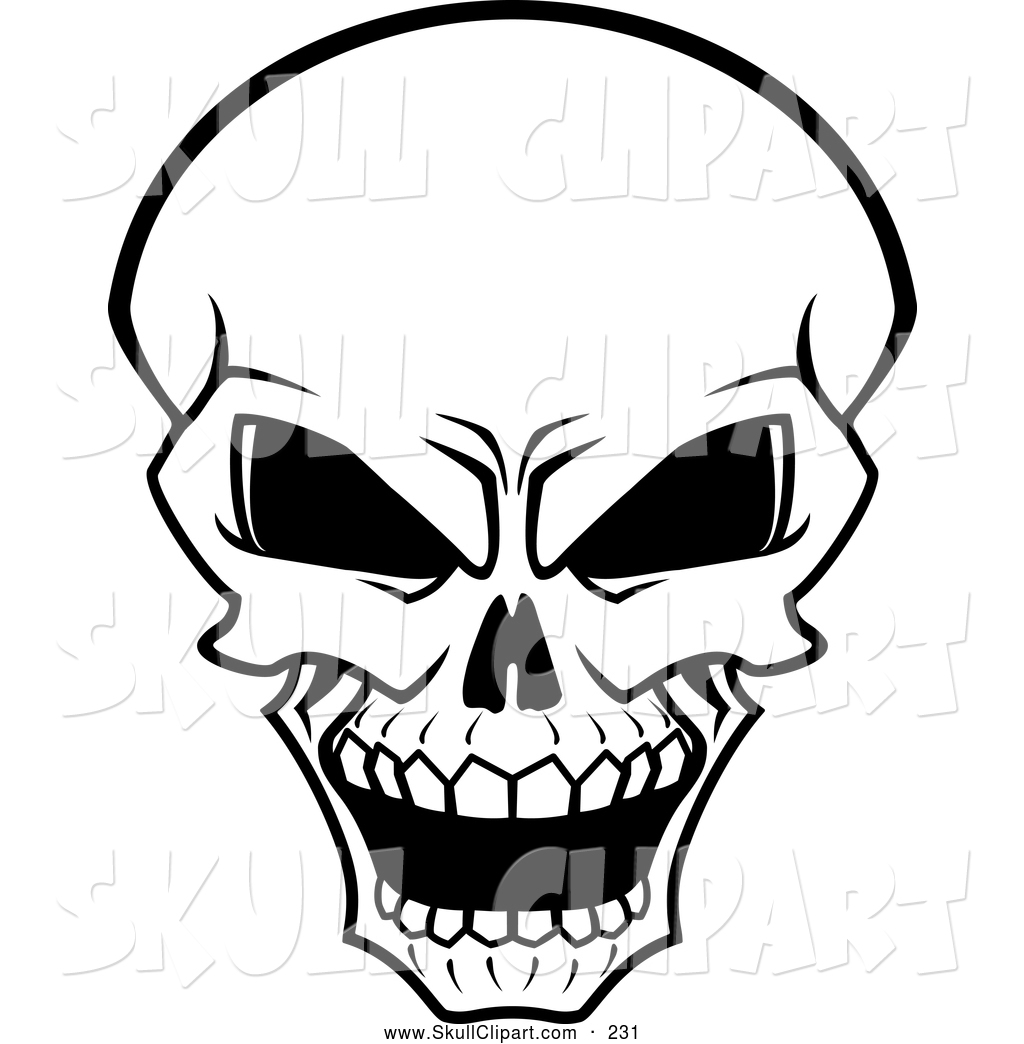 Skeleton Face Line Drawing : Flesh clipart panda free images
