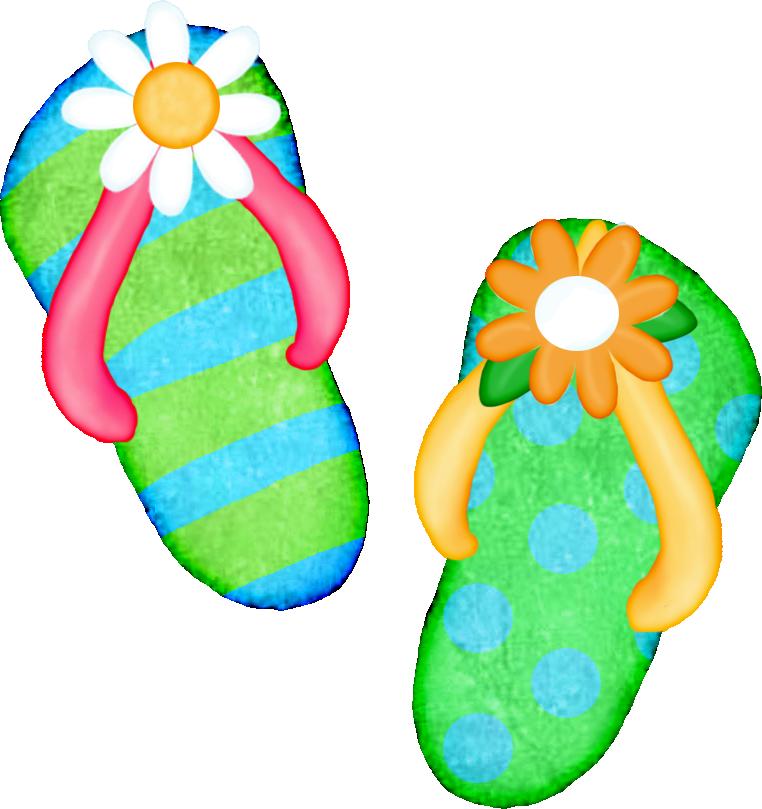 Image result for clip art flip flops
