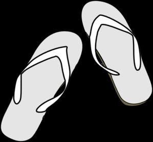 flip flops clipart black and white clipart panda free