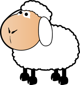 Flock Of Sheep Coloring Page Clipart Panda Free