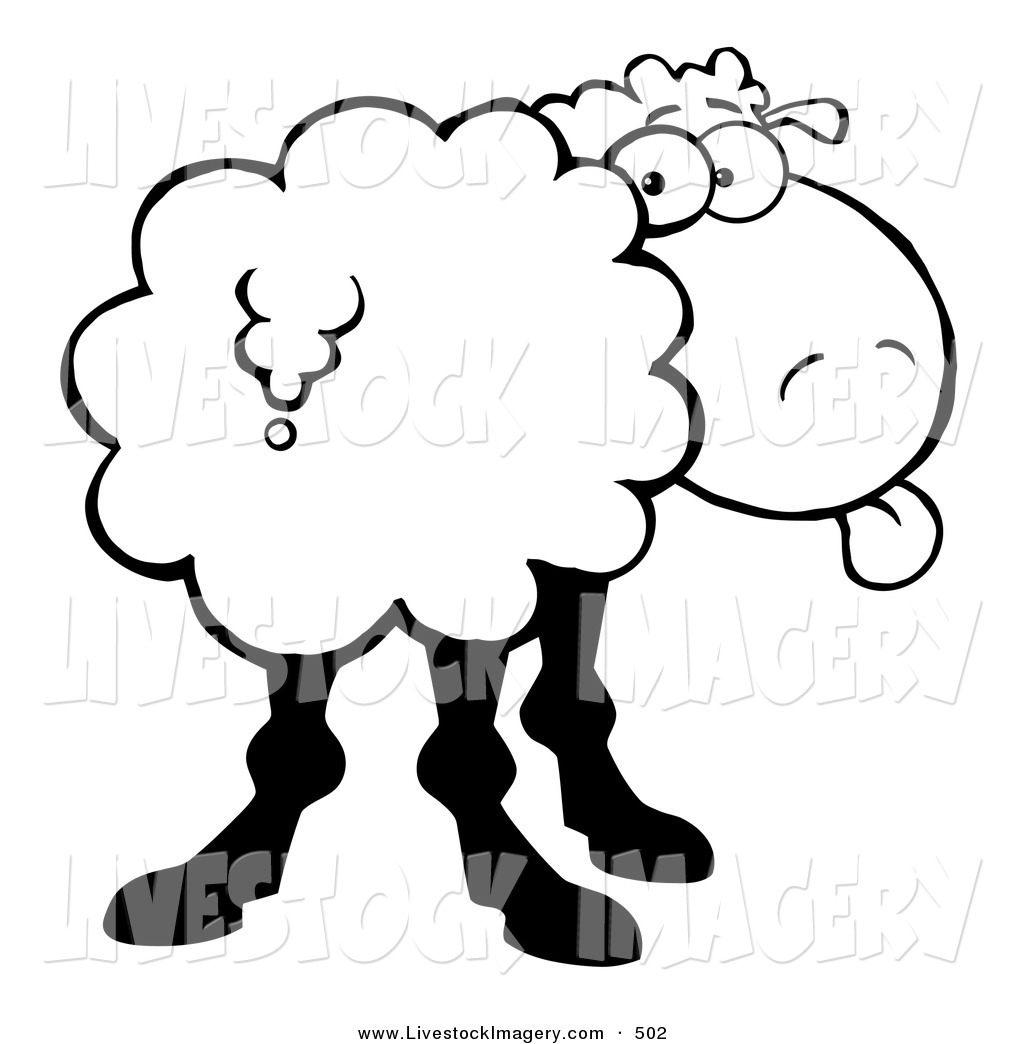 flock of sheep coloring page clipart panda free clipart images