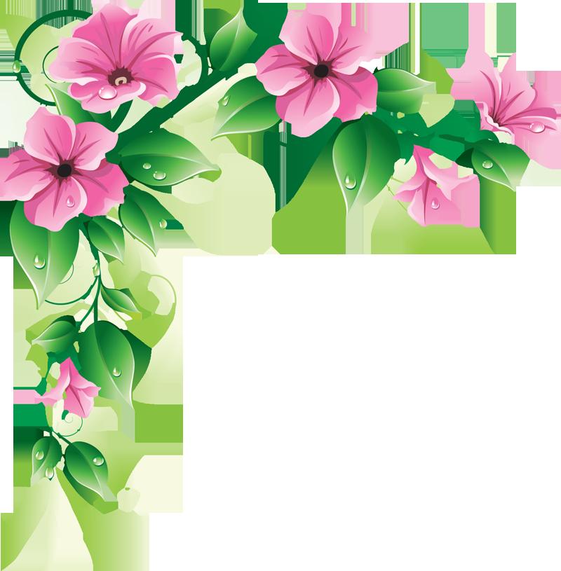 Hawaiian Flower Border Clip Art | Clipart Panda - Free ...