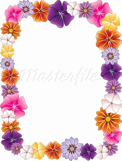 Flower Border Clipart | Clipart Panda - Free Clipart Images
