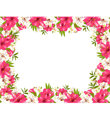 Flower Borders | Clipart Panda - Free Clipart Images