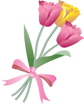 Clip Art Flower Bouquet Clip Art flower bouquet clipart black and white panda free