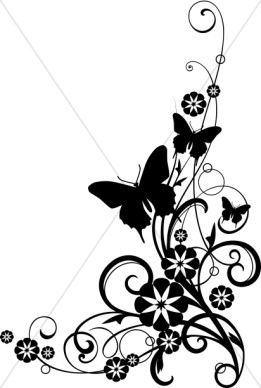 flower%20bouquet%20clipart%20black%20and%20white