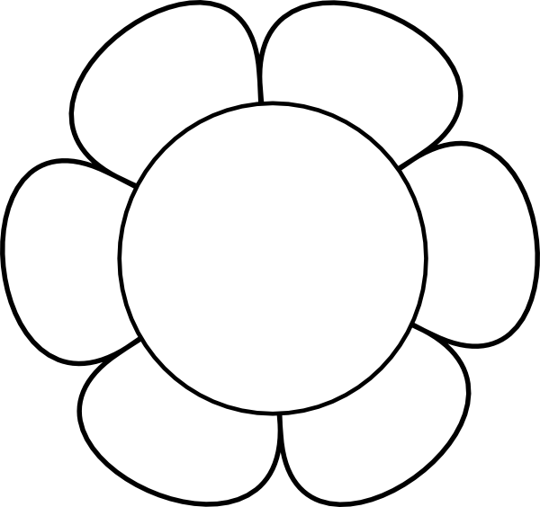 Flower Outlines Printable Flower Bouquet Outline...