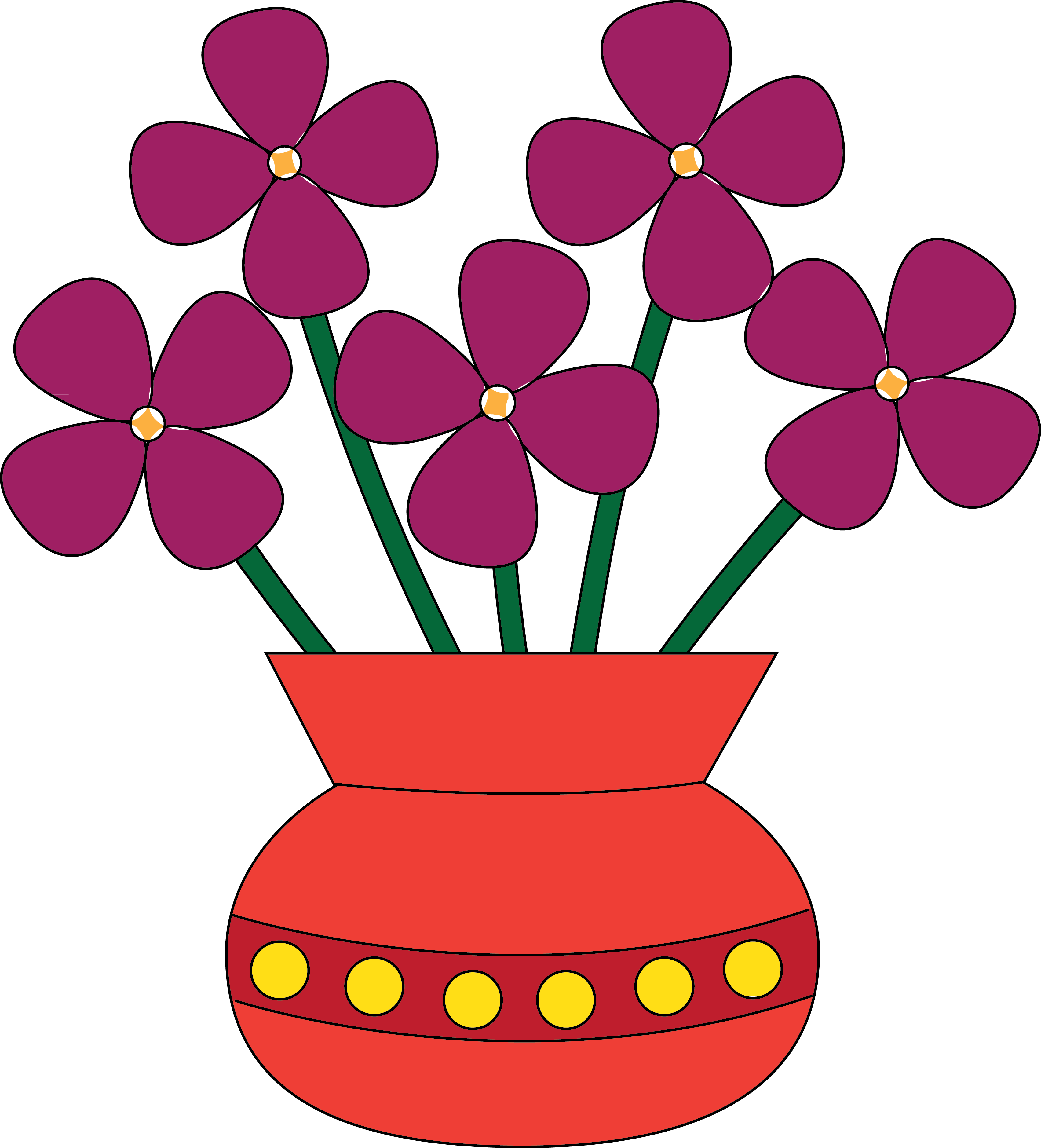 Flower Clip Art For Kids | Clipart Panda - Free Clipart Images