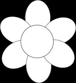Shape Flowers Clipart Best