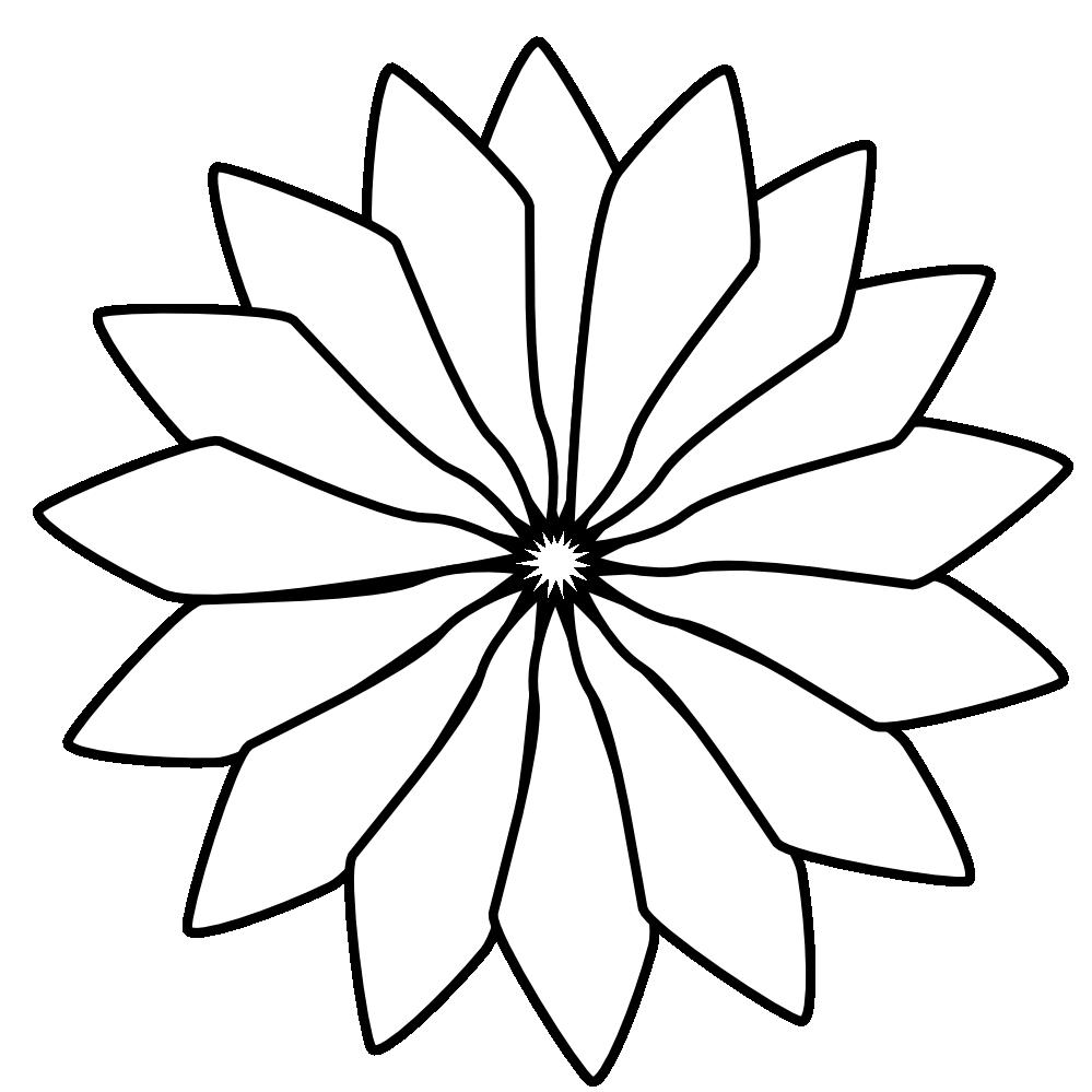 Clip art flower black and white clipart panda free clipart images flower20clipart20black20and20white mightylinksfo