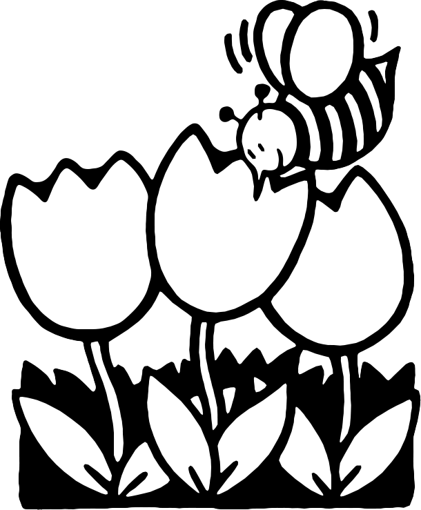 flower%20clipart%20black%20and%20white
