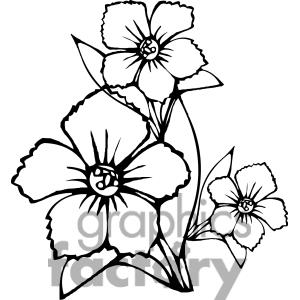 Clipart spring flowers black and white clipart panda free flower20outline20clipart mightylinksfo Gallery