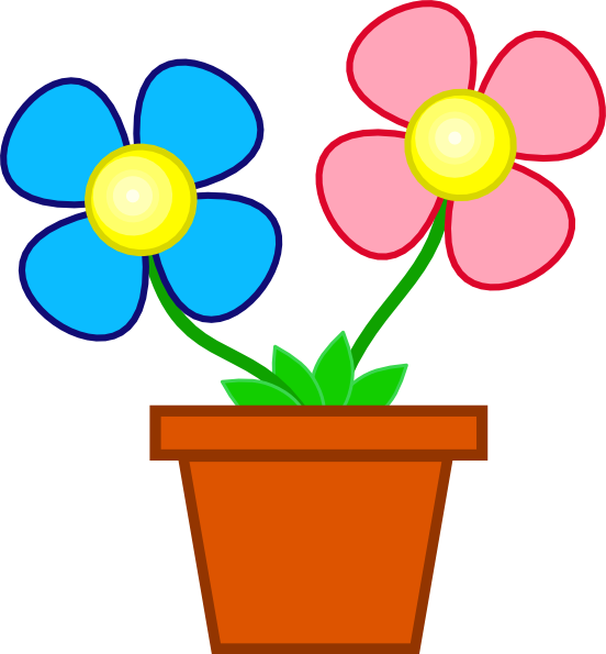 free flowers in pot clip art clipart panda free clipart images rh clipartpanda com