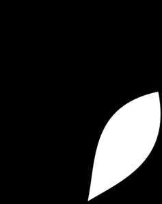 Flower Stem Clipart Black And White | Clipart Panda - Free ...