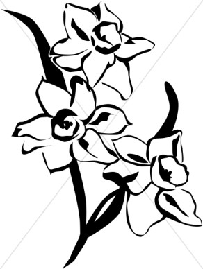 flowers%20arrangements%20clipart%20black%20and%20white