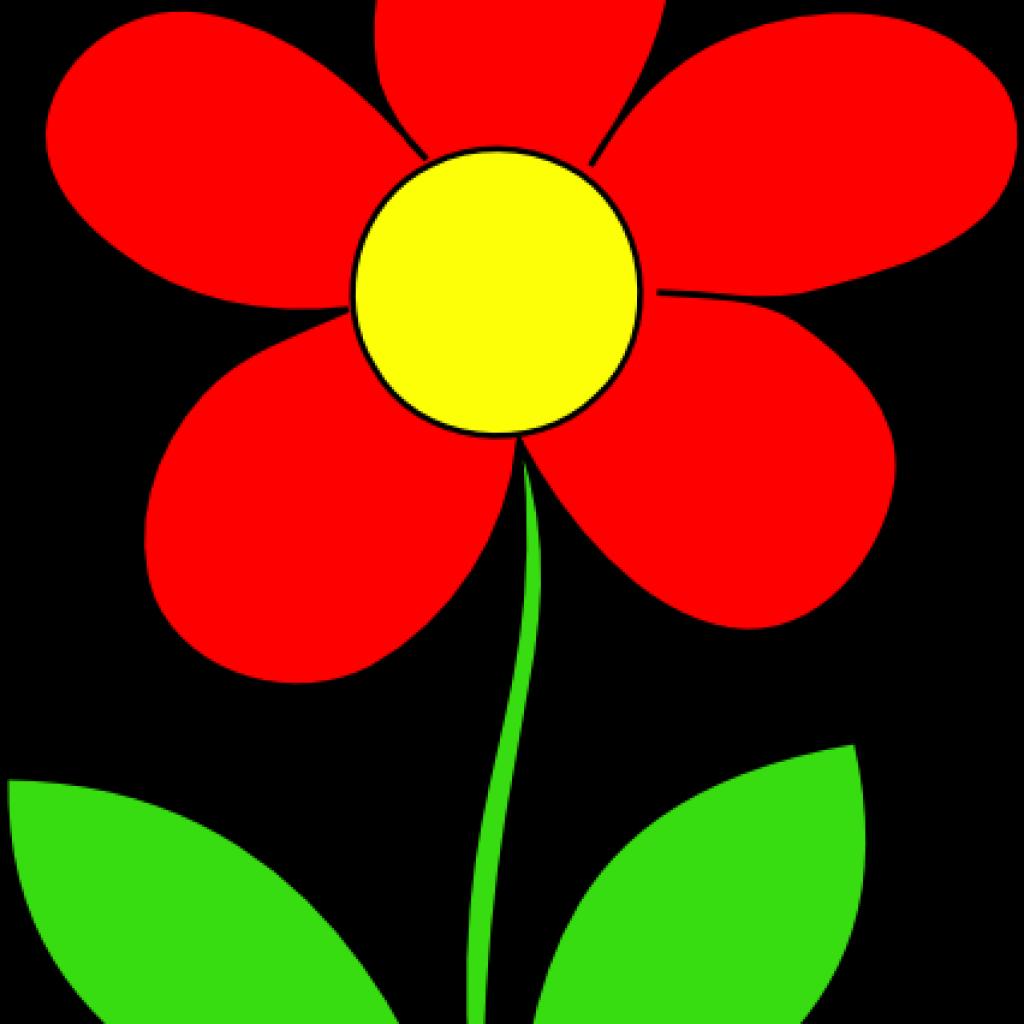 Red Flower Clip Art Flower Clipart Panda Free Clipart Images
