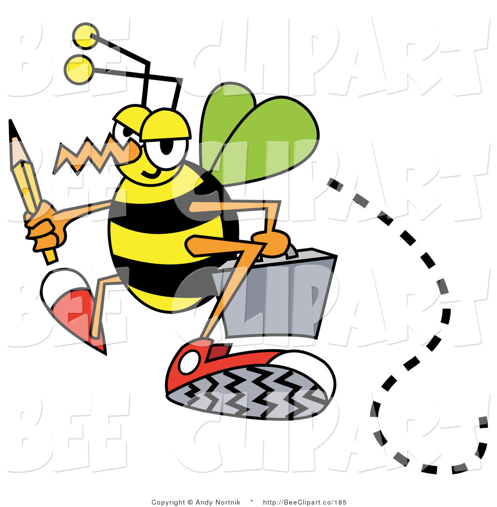 Busy Bee Clipart   Clipart Panda - Free Clipart Images