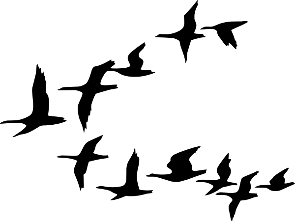 Bird Flying Clipart | www.pixshark.com - Images Galleries ...