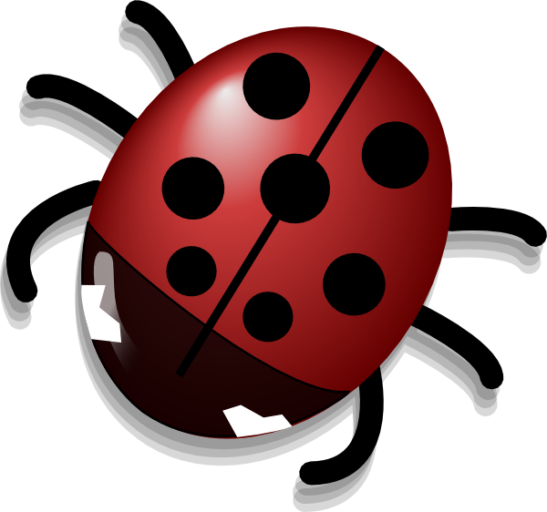 Ladybug On Red Flower | Clipart Panda - Free Clipart Images