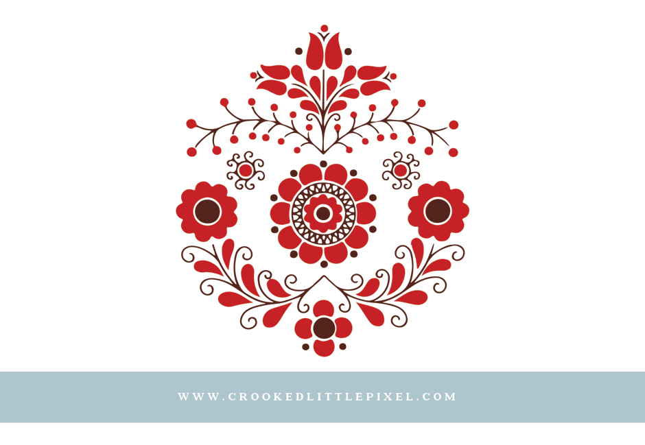 Free Christmas Star Embroidery Design