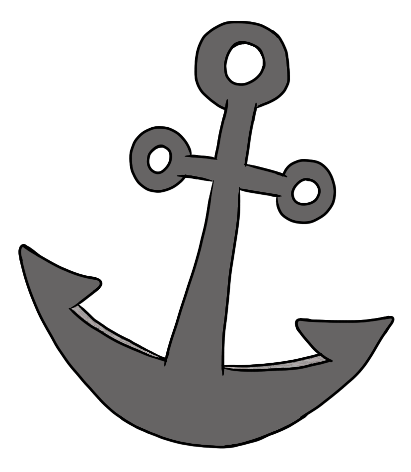 Cute Anchor Clip Art
