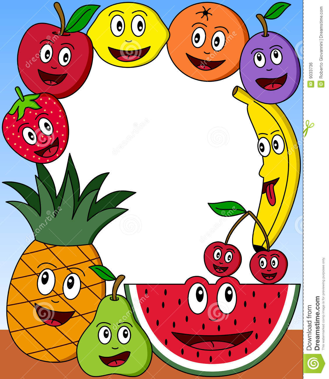Food Borders And Frames | Clipart Panda - Free Clipart Images