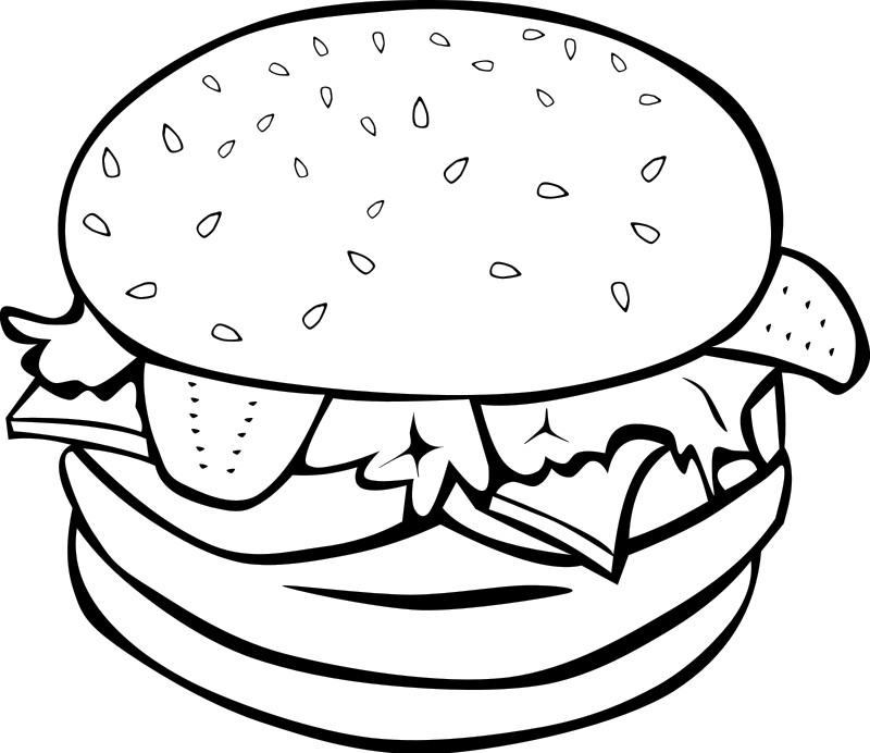 Clip Art Food Clipart Black And White food clipart black and white panda free images