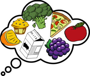 Food Clipart Black And White | Clipart Panda - Free Clipart Images