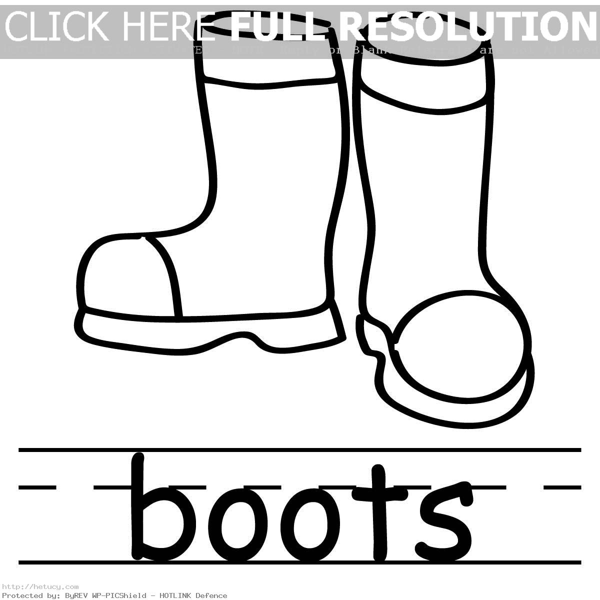 Use these free images for your websites  art projects  reports  and    Winter Boots Coloring Pages