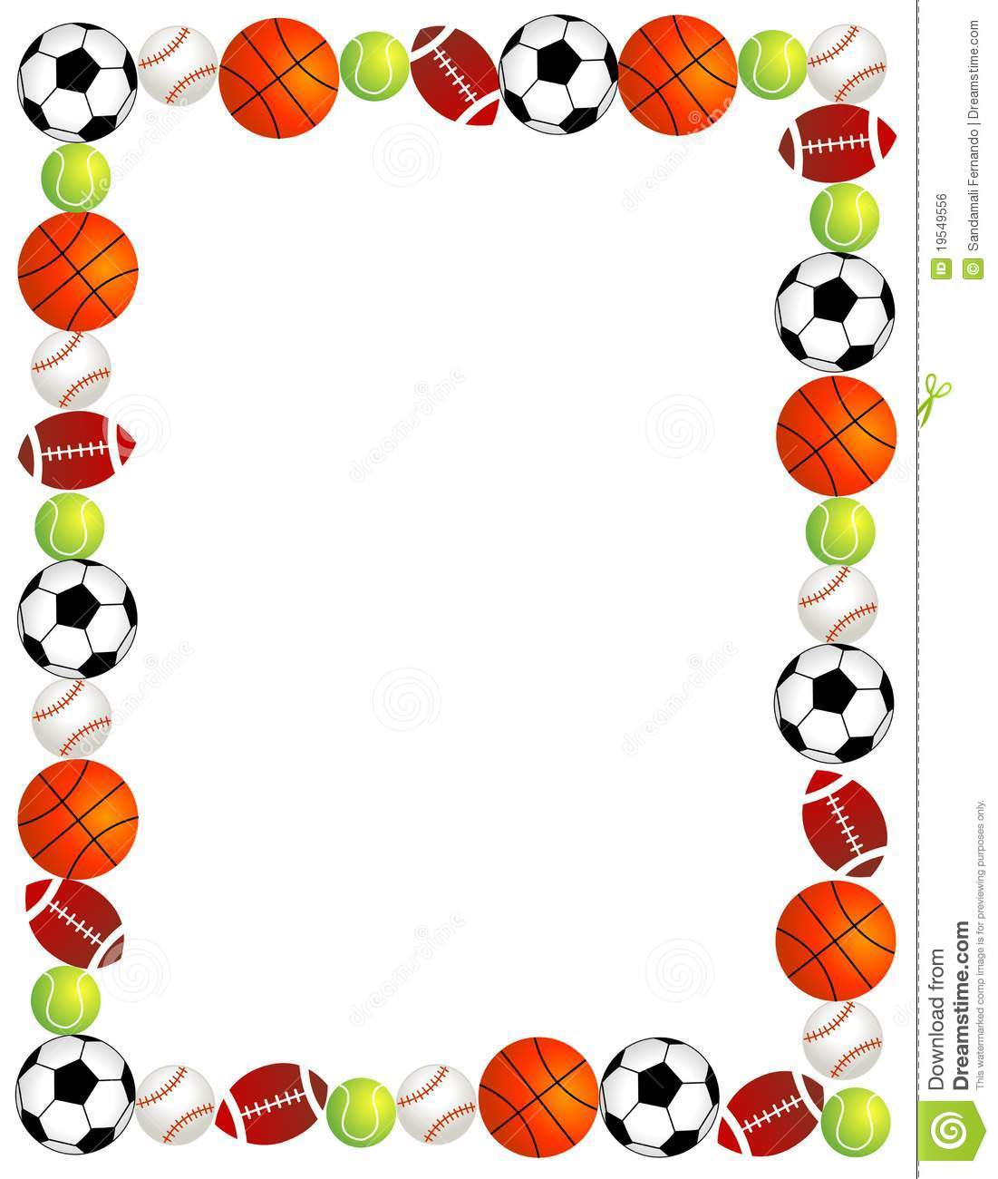 sports borders clipart panda free clipart images rh clipartpanda com sports border clip art free Sports Balls Clip Art