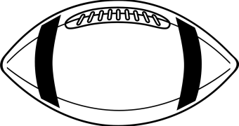 football clip art black and white clipart panda free clipart images rh clipartpanda com free football clipart black and white