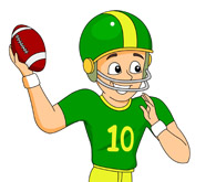 To Throw Football Clipart Clipart Panda Free Clipart Images