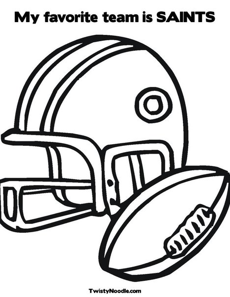 ColoringBuddyMike: Football Helmet Coloring Pages - YouTube | 605x468