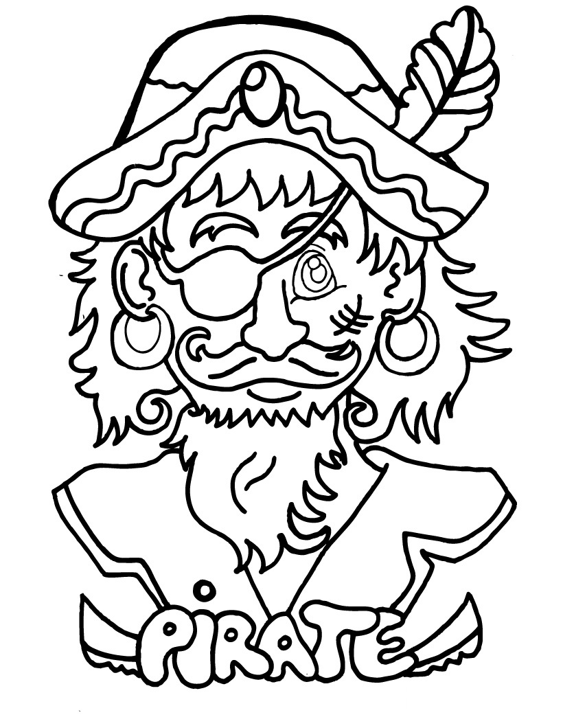 pirate coloring pages printable design - Pittsburgh Pirates Coloring Pages