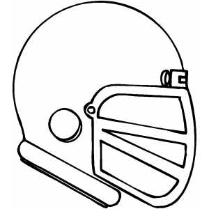 Football helmet coloring pages clipart panda free for Steelers football helmet coloring page