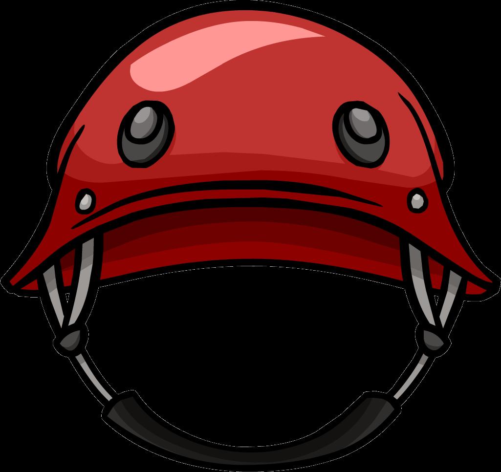 Football helmet front clipart