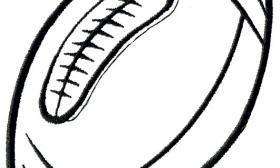 clipart info - Football Outline