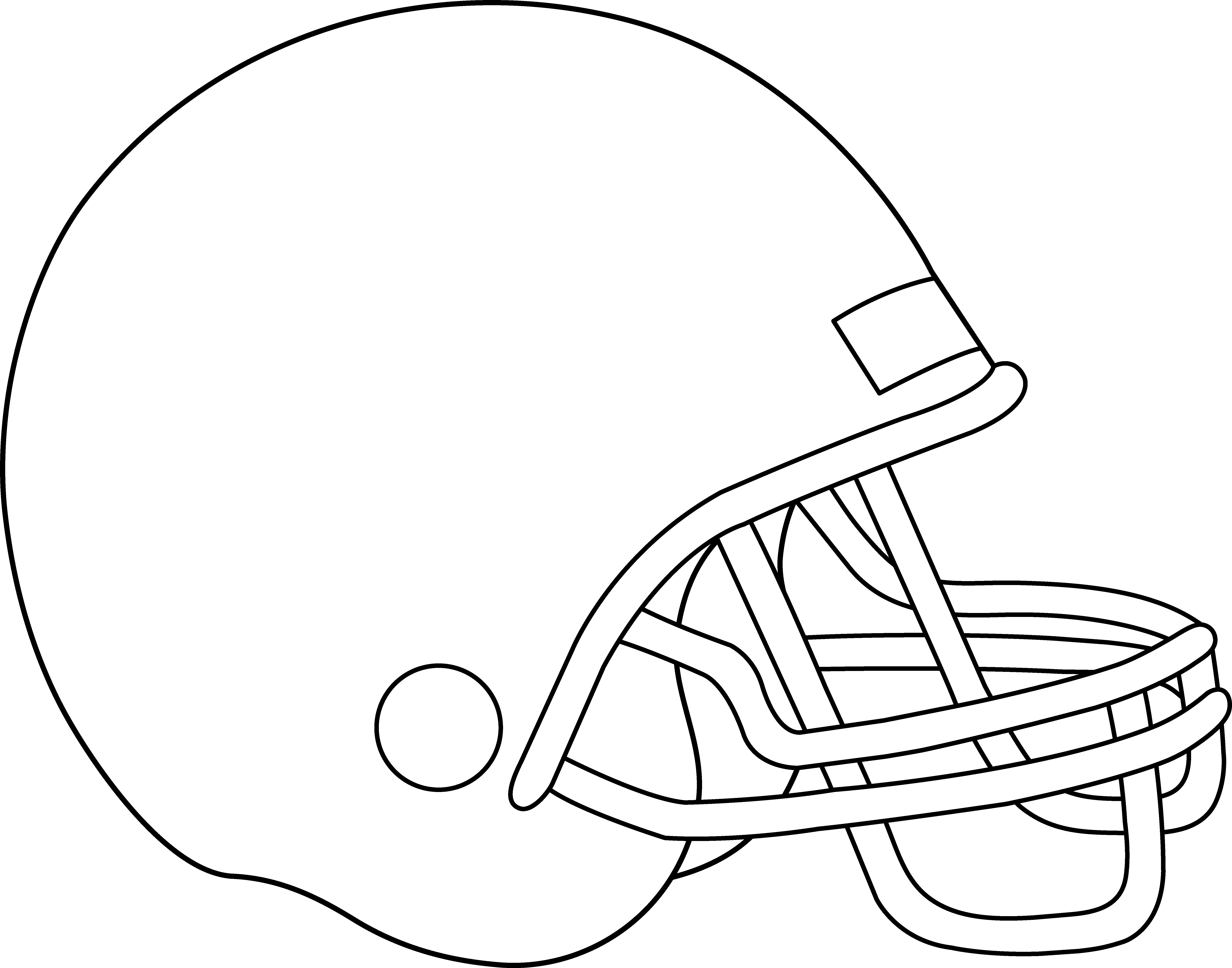 clipart info - Football Helmet Coloring Pages