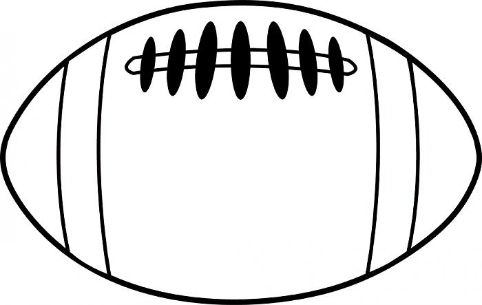 Football Helmet Outline Football Outline Clipart