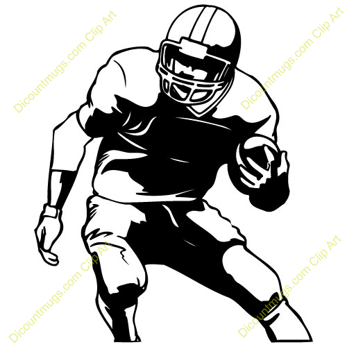 football player clipart black and white clipart panda free rh clipartpanda com football player clipart free football player clipart free