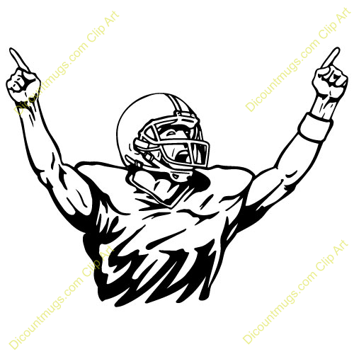 football player celebrating clipart panda free clipart images rh clipartpanda com football player clip art free football player clipart black and white