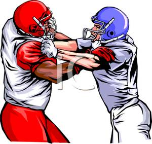 Football Player Clip Art Black White | Clipart Panda ...