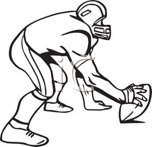 football%20player%20clipart%20black%20and%20white