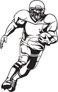 football player clipart black and white clipart panda free rh clipartpanda com football player clipart free football player clipart png