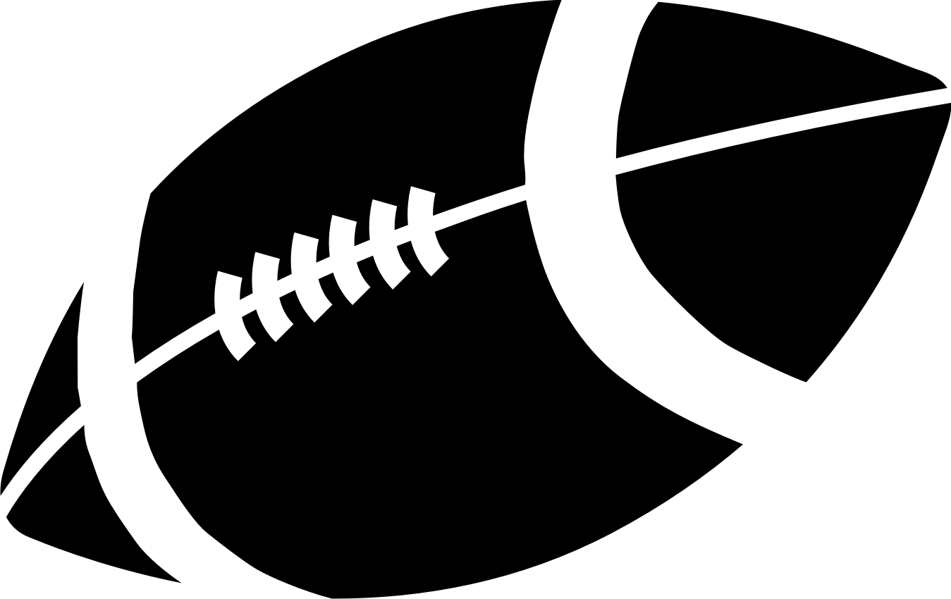 american football clipart black and white clipart panda