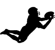 football20player20running20silhouette