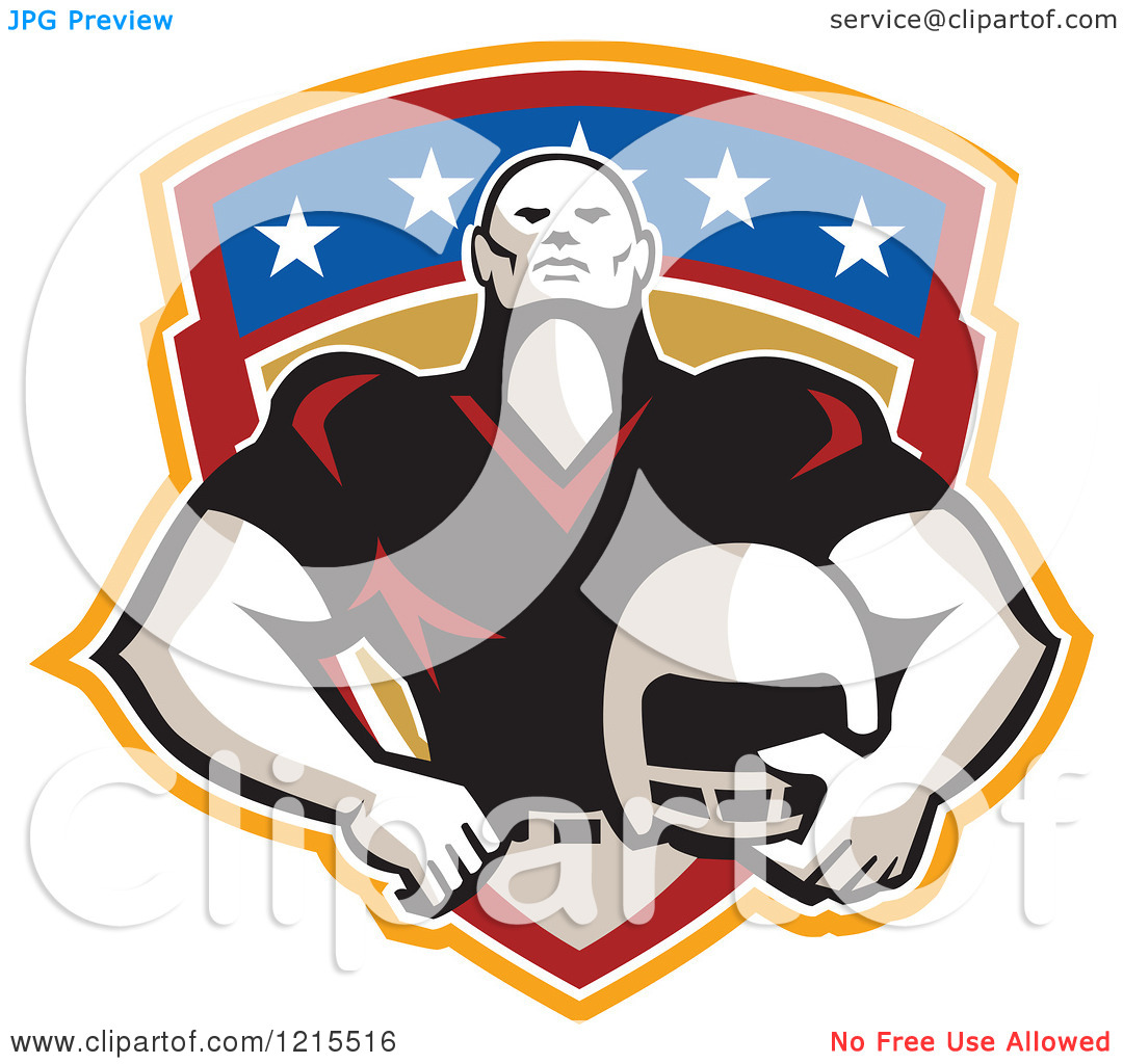 Clipart of a Tackle Linebacker | Clipart Panda - Free ...