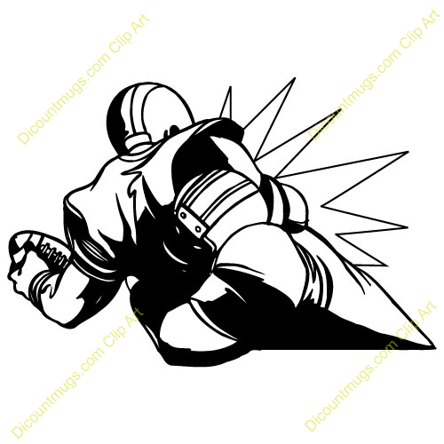 Mean Football Player Clipart | Clipart Panda - Free ...