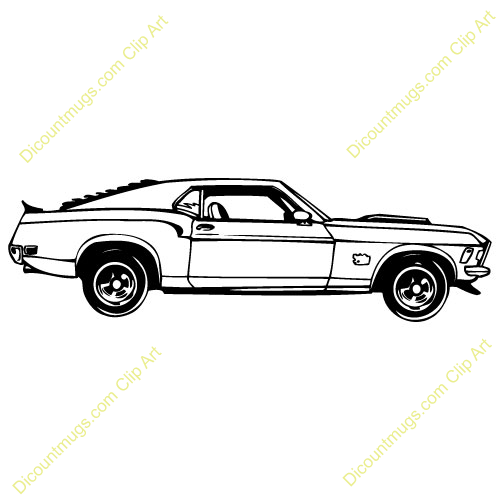 Vintage ford mustang art are